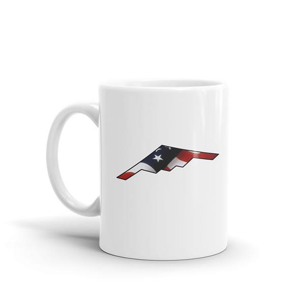 Star Spangled B-2 Spirit Mug