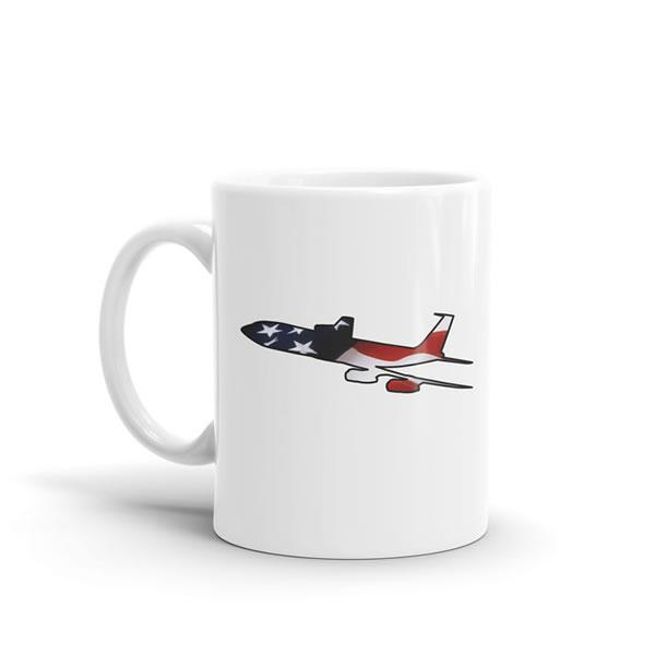 Star Spangled Boeing 707 Mug
