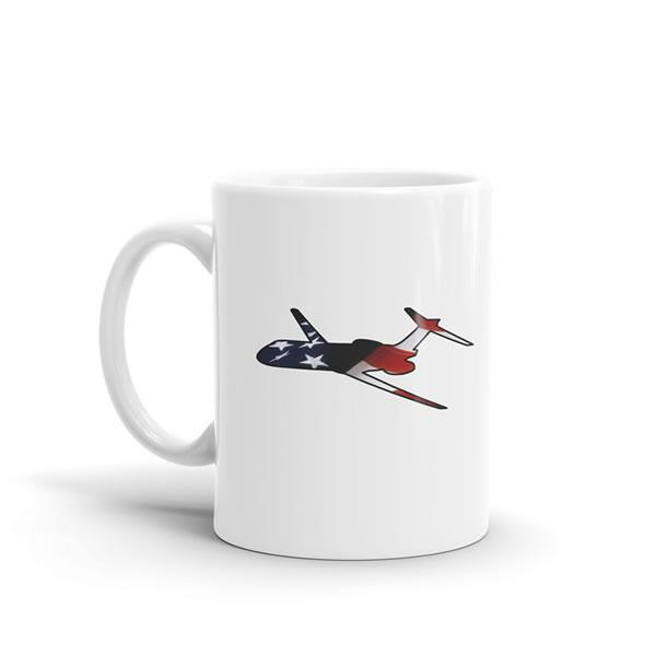 Star Spangled Boeing 717 Mug