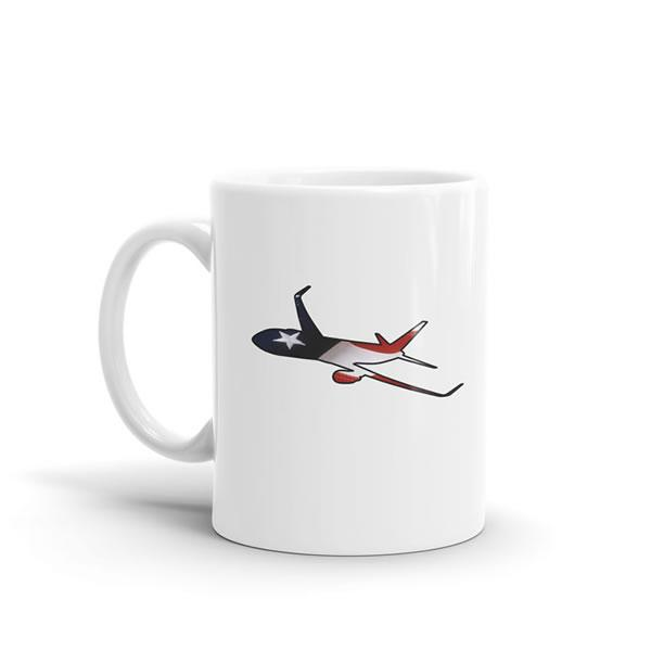 Star Spangled Boeing 767 Mug