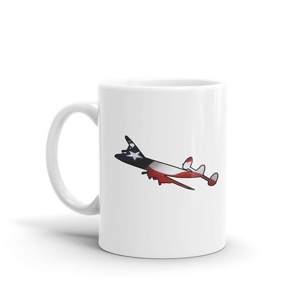Star Spangled Lockheed Constellation Mug
