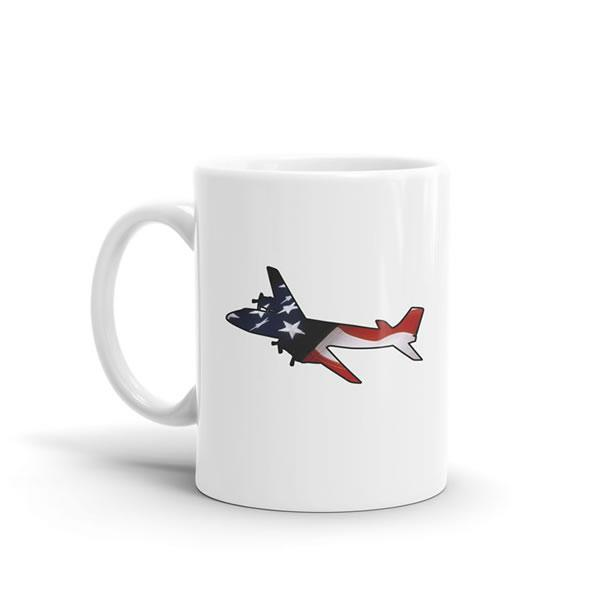 Star Spangled DC-6 Mug