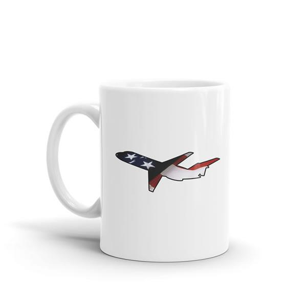 Star Spangled DC-9 Mug