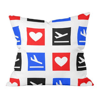 Love To Fly Pillow