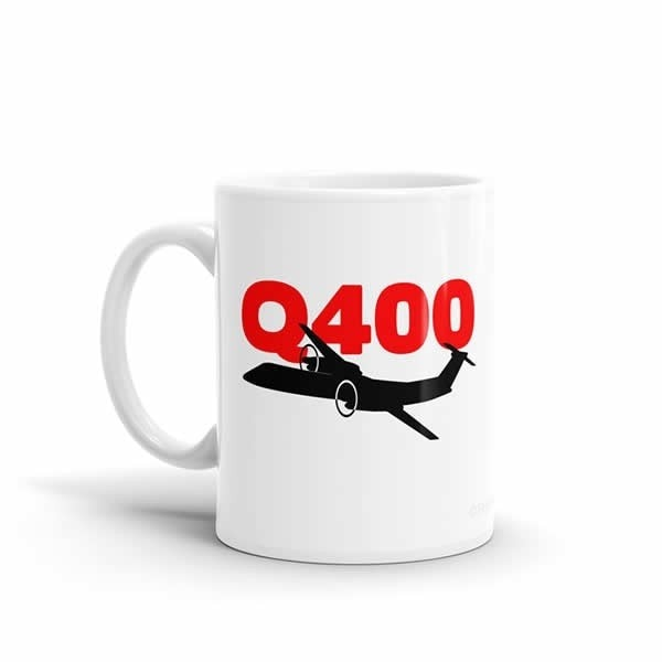 Sleek Silhouette Q400 Mug