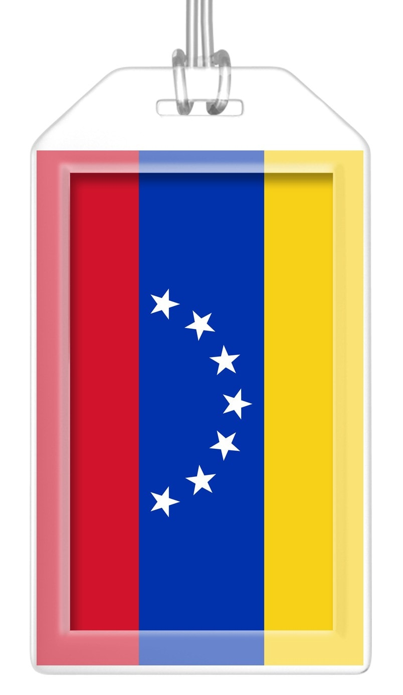 Venezuela Flag Bag Tag (Set of 2)