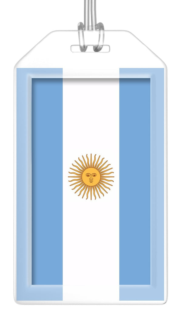 Argentina Flag Bag Tag (Set of 2)