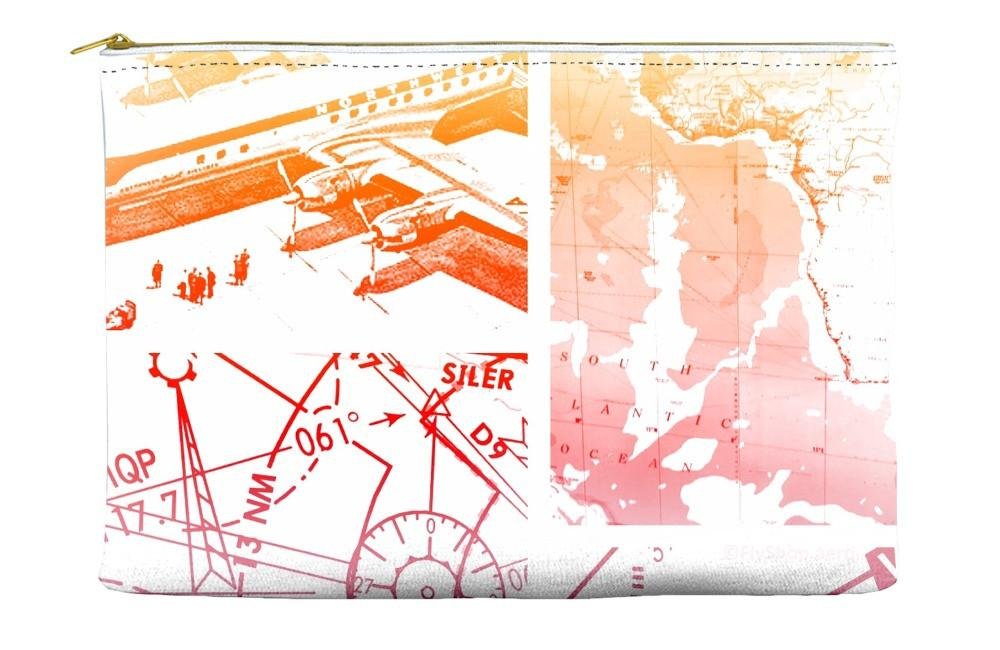 Funky Navigation Chart Pouch