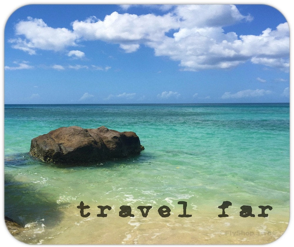 Travel Far Grenada Mousepad