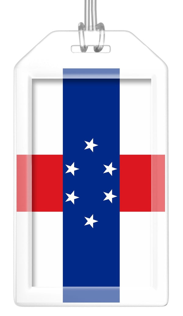 Antilles (Netherlands) Flag Bag Tag (Set of 2)