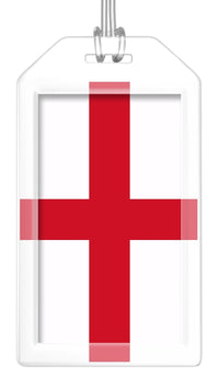 England Flag Bag Tag (Set of 2)