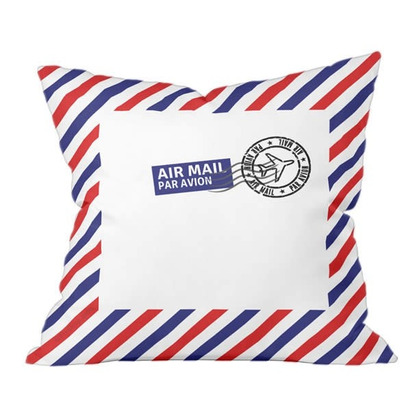 Air Mail (Par Avion) Pillow