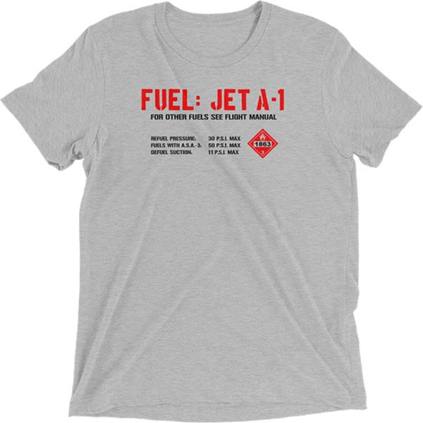 Jet Fuel Placard T-Shirt