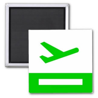 Flight Icon Takeoff Magnet