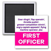 Job Descriptions: First Officer Magnet