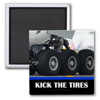 Slang - Kick The Tires Magnet