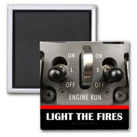 Slang - Light The Fires Magnet