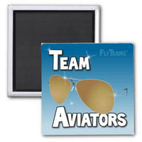 FlyTeams™ Team Aviators (Bronze) Magnet