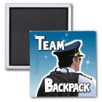 FlyTeams™ Team Backpack Magnet