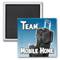 FlyTeams™ Team Mobile Home Magnet