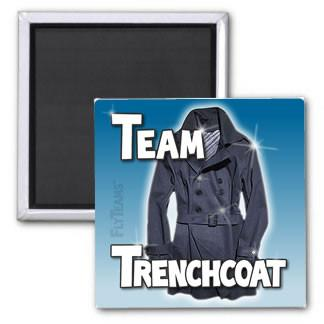 FlyTeams™ Team Trenchcoat Magnet