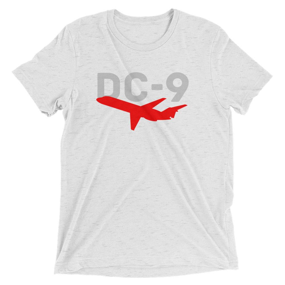 Sleek Silhouette DC-9 T-Shirt