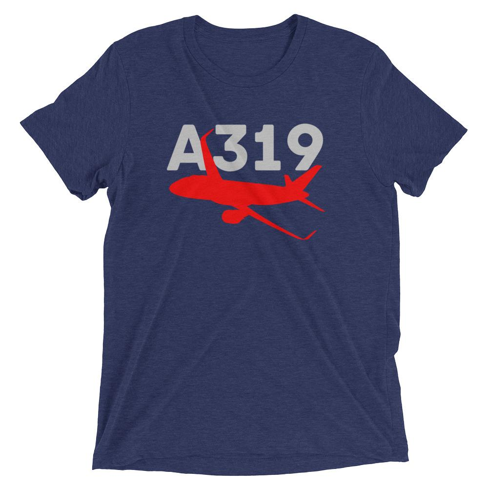 Sleek Silhouette Airbus A319 T-Shirt