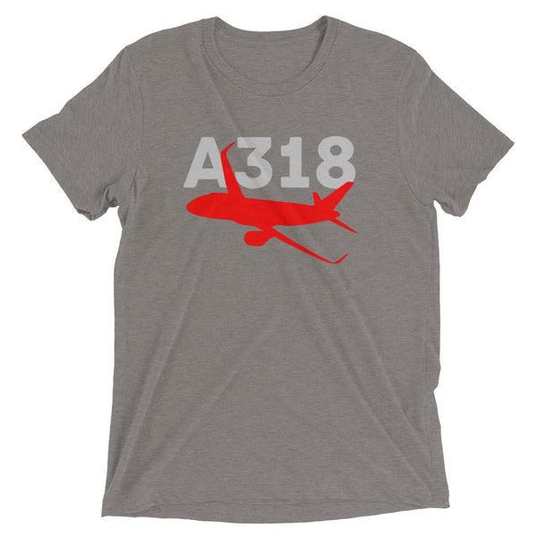 Sleek Silhouette Airbus A318 T-Shirt