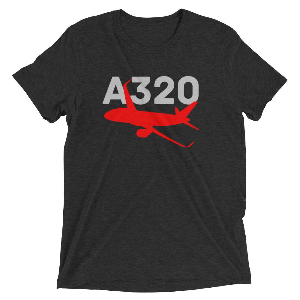 Sleek Silhouette Airbus A320 T-Shirt