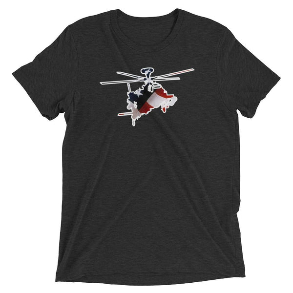 Star Spangled AH-64 Apache T-Shirt