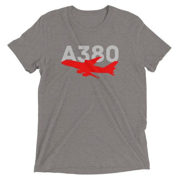 Sleek Silhouette Airbus A380 T-Shirt