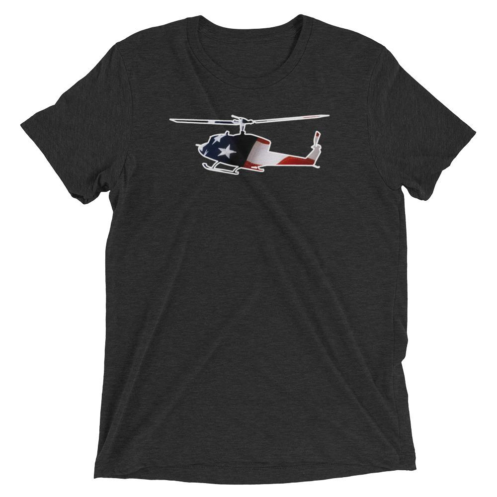 Star Spangled UH-1 Huey T-Shirt