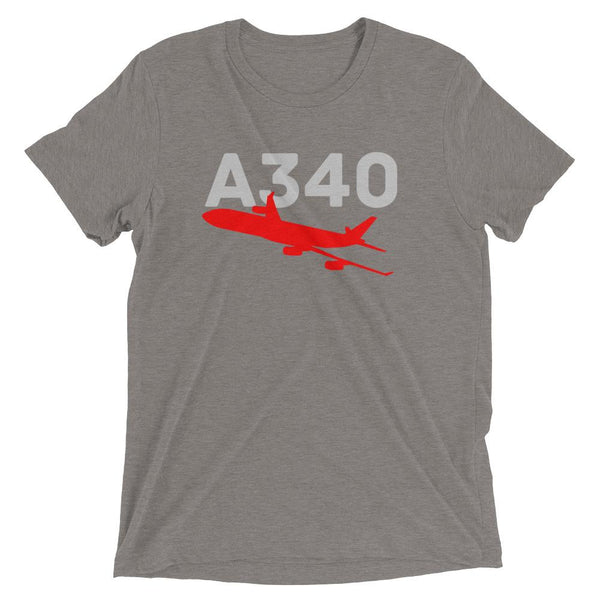 Sleek Silhouette Airbus A340 T-Shirt