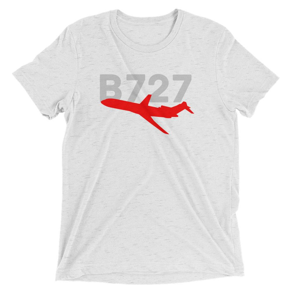Sleek Silhouette Boeing 727 T-Shirt