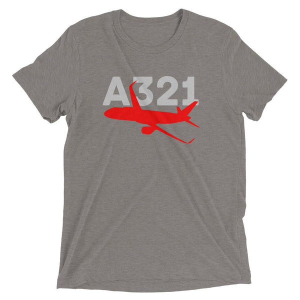 Sleek Silhouette Airbus A321 T-Shirt