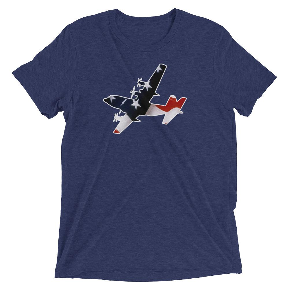 Star Spangled C-130 T-Shirt