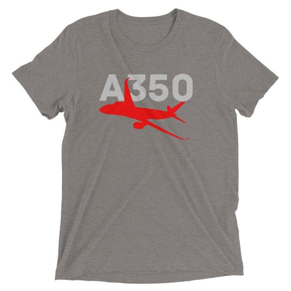 Sleek Silhouette Airbus A350 T-Shirt