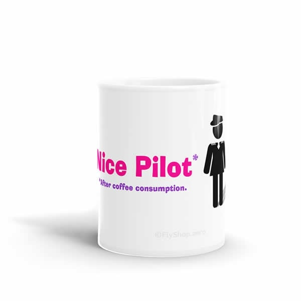 Nice Pilot (After Coffee Consumption) Mug