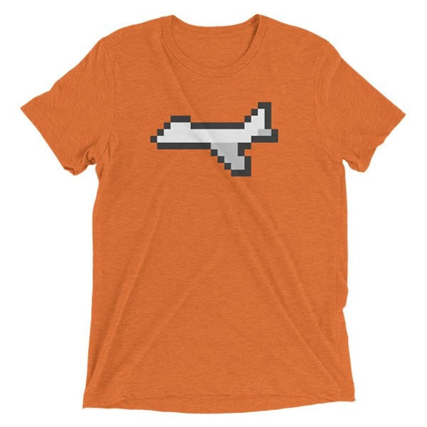 8-Bit Airplane T-Shirt