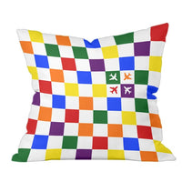 Checkered Flight Pillow
