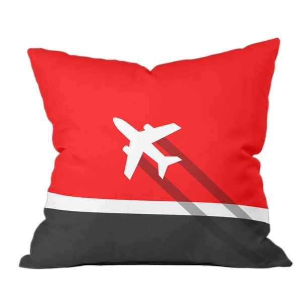 Modern Flight (Inverse) Pillow
