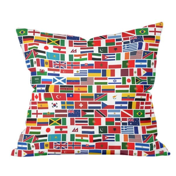 Globetrotter Pillow