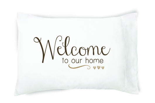 Faceplant Pillowcases- Welcome To Our Home