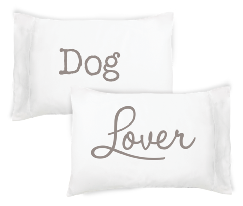 Faceplant Pillowcase Set- Dog Lover