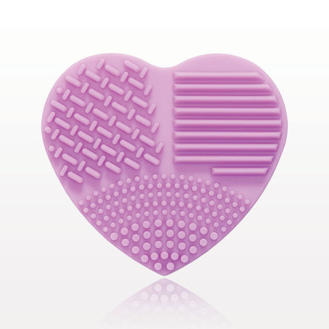 PURPLE MAKEUP BRUSH CLEANSING PAD