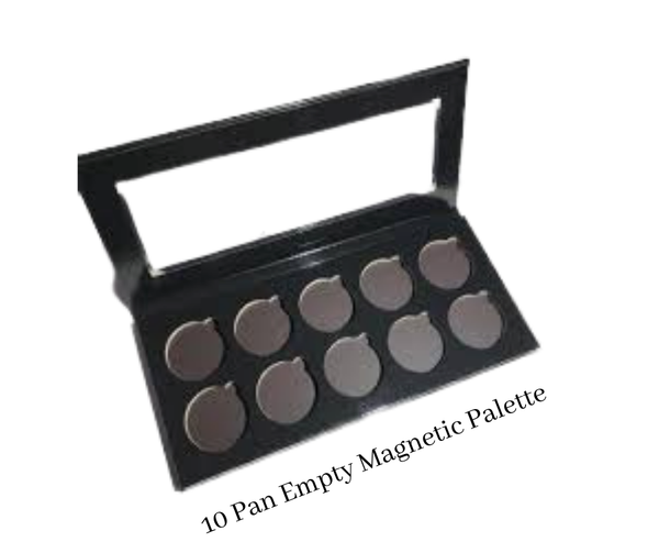 10 PAN EMPTY MAGNETIC PALETTE