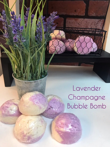 LAVENDER CHAMPAGNE LUXURY BUBBLE BOMB