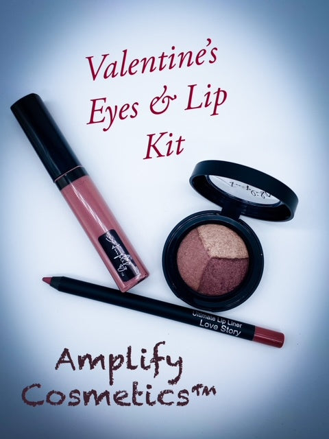 Valentine's Eyes & Lip Kit