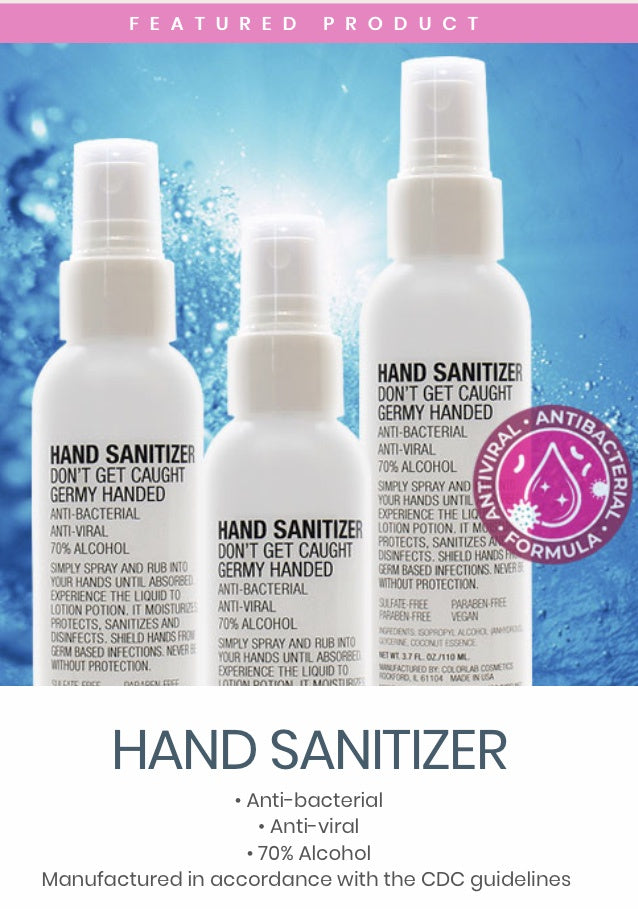 MOISTURIZING HAND SANITIZER 2oz