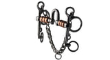 HANOVERIAN COPPER ROLLER HIGH PORT PELHAM HORSE BIT
